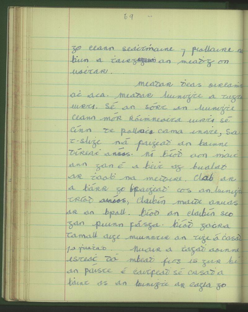 An Bloscaod Mór | The Schools' Collection
