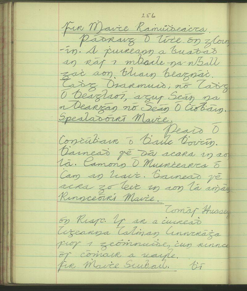 Baile 'n Fhirtéaraigh (B.) | The Schools' Collection