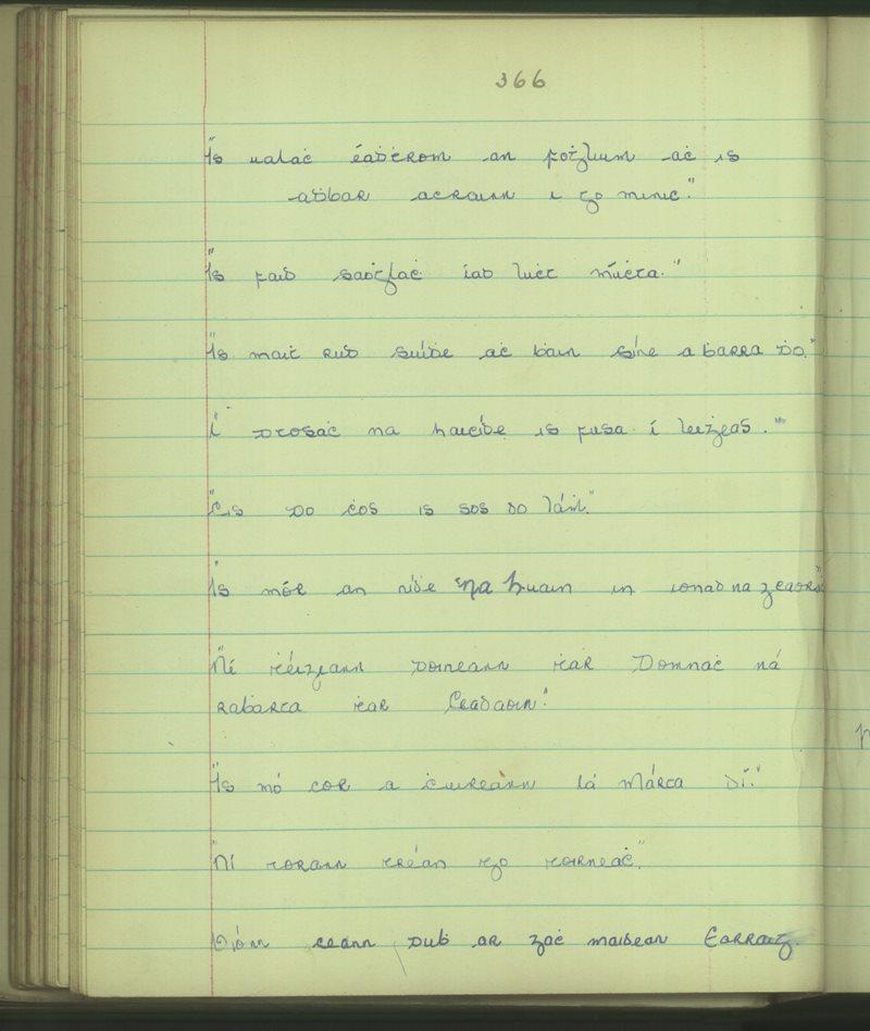 Naomh Breandán, Baile na nGall | Bailiúchán na Scol