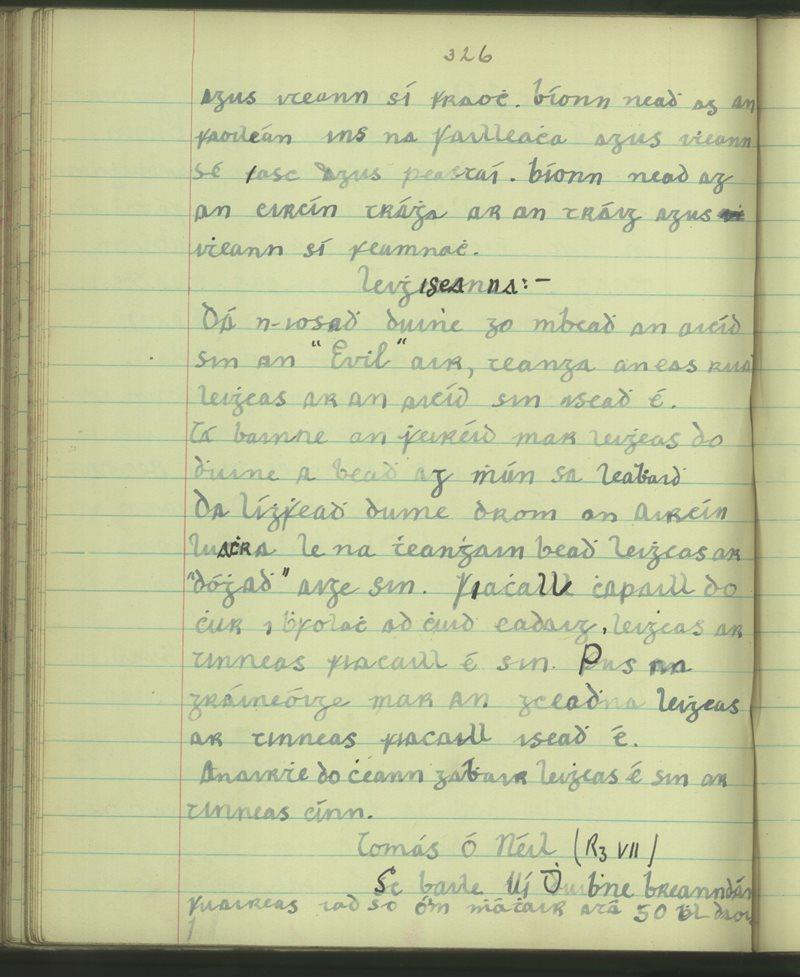 Baile Uí Dhuibhne | The Schools' Collection