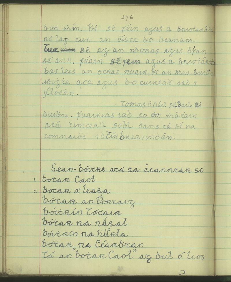 Baile Uí Dhuibhne | Bailiúchán na Scol