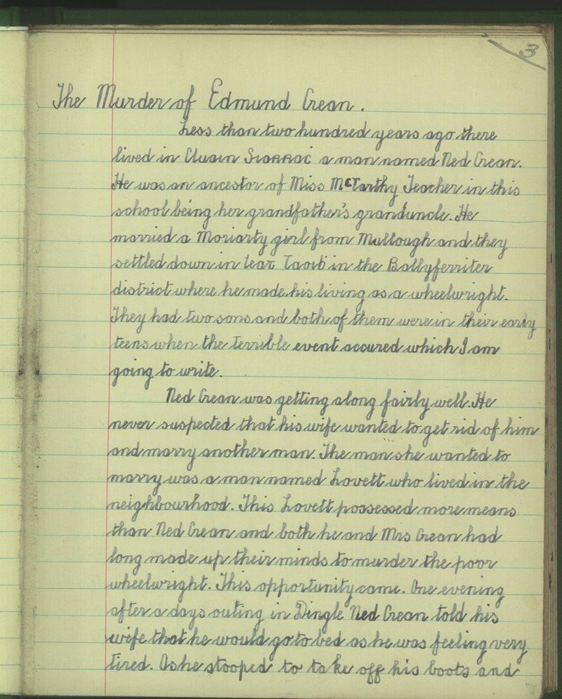 The Murder of Edmund Crean