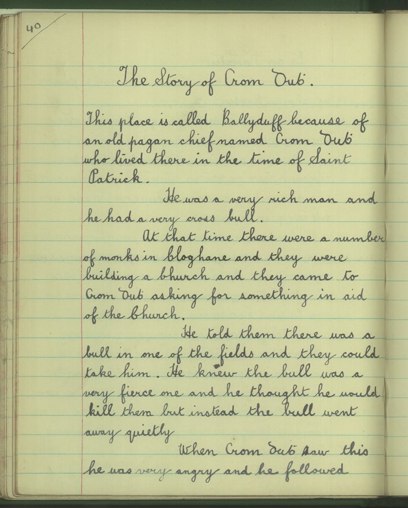The Story of Crom Dubh