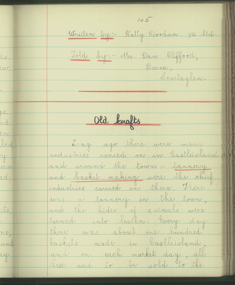 An Clochar, Oileán Ciarraí | The Schools' Collection