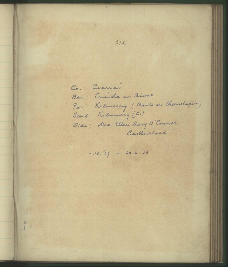Kilmurry (C.) | The Schools' Collection