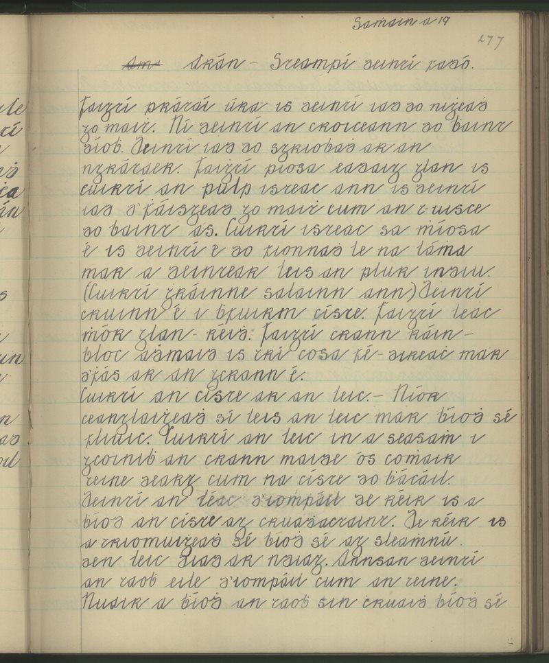 Arán - Steaimpí a Deintí Fadó