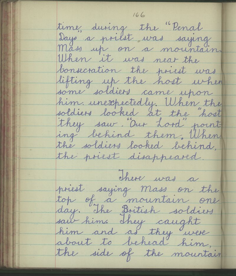 Scoil na Mainistreach | The Schools' Collection