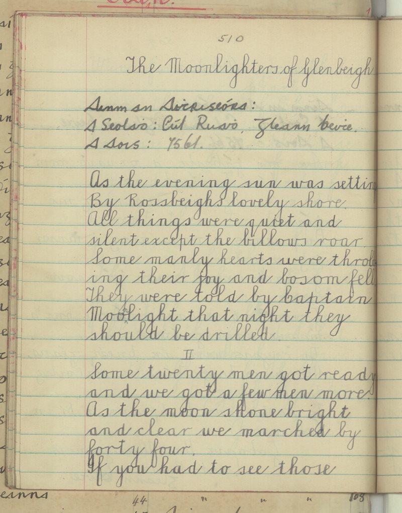 The Moonlighters of Glenbeigh