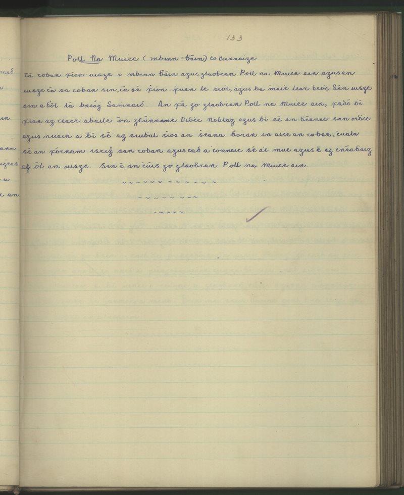 Poll na Muice - Binn Bán - Co. Ciarraí