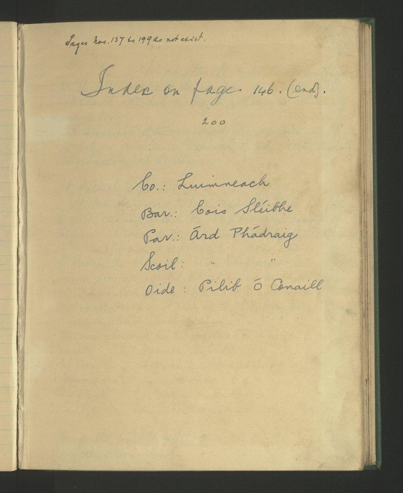 Árd Phádraig   The Schools' Collection