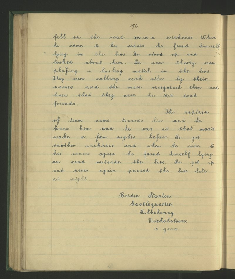 Coill Beithne (C.), Baile Mhistéala | The Schools' Collection