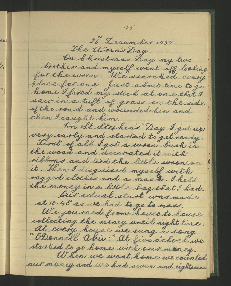 The Wren's Day - 26th December 1937