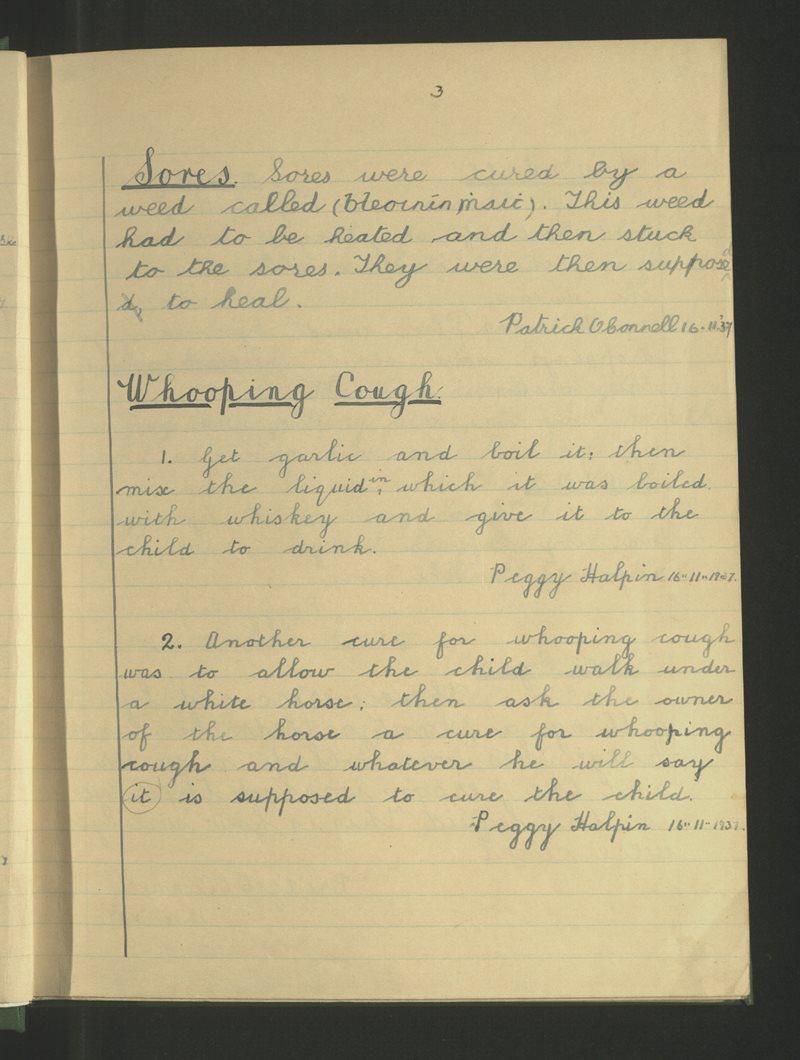 Domhnach Mór, Luimneach | The Schools' Collection