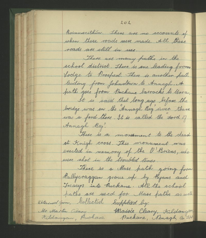 Cill an Daingin, Nenagh | The Schools' Collection