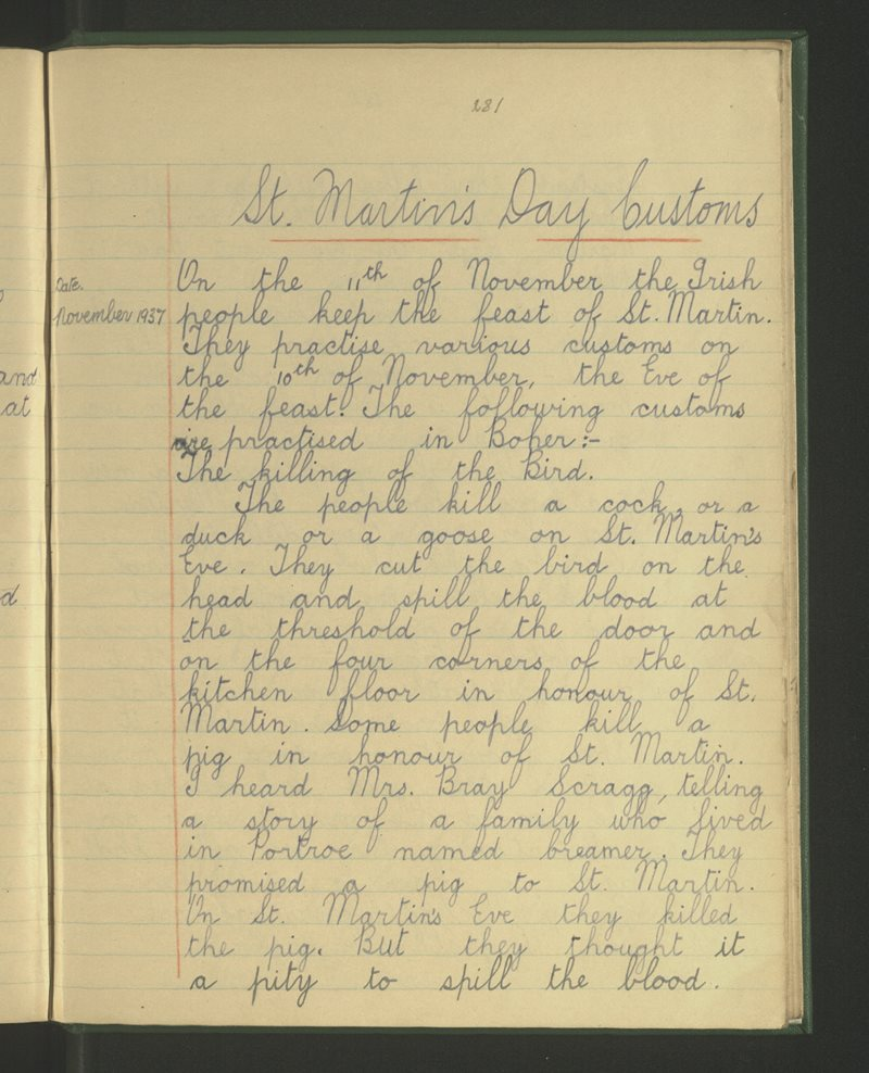 Boher, Bushfield. Nenagh | The Schools' Collection