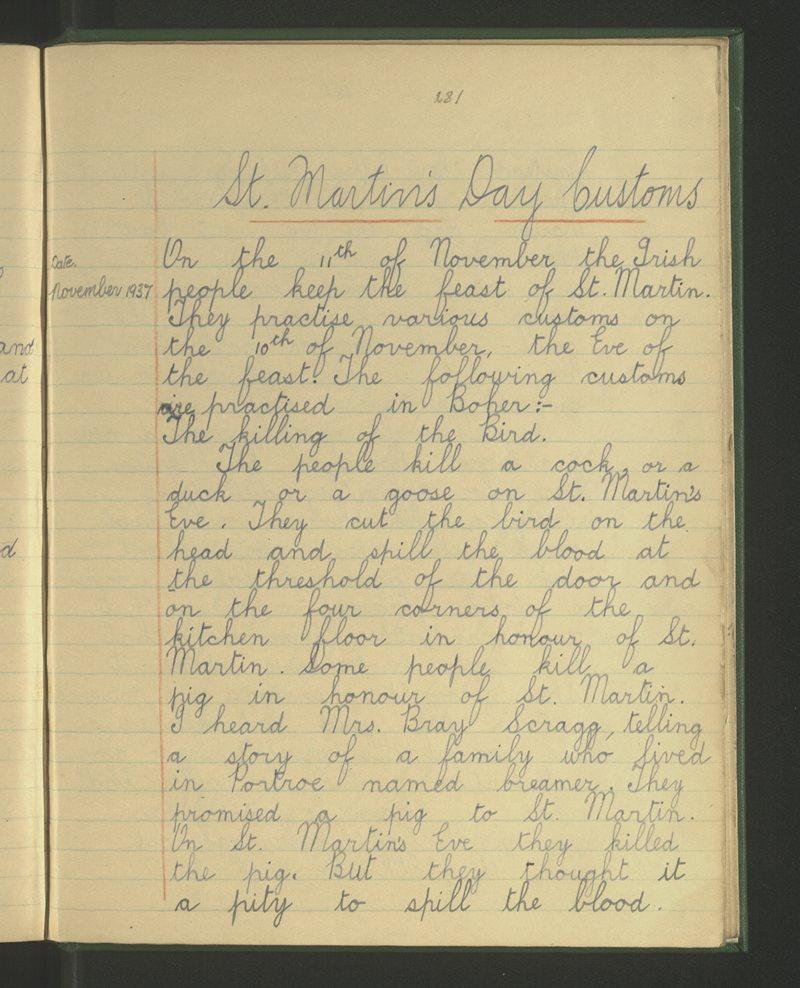 Boher, Bushfield. Nenagh | The Schools' Collection