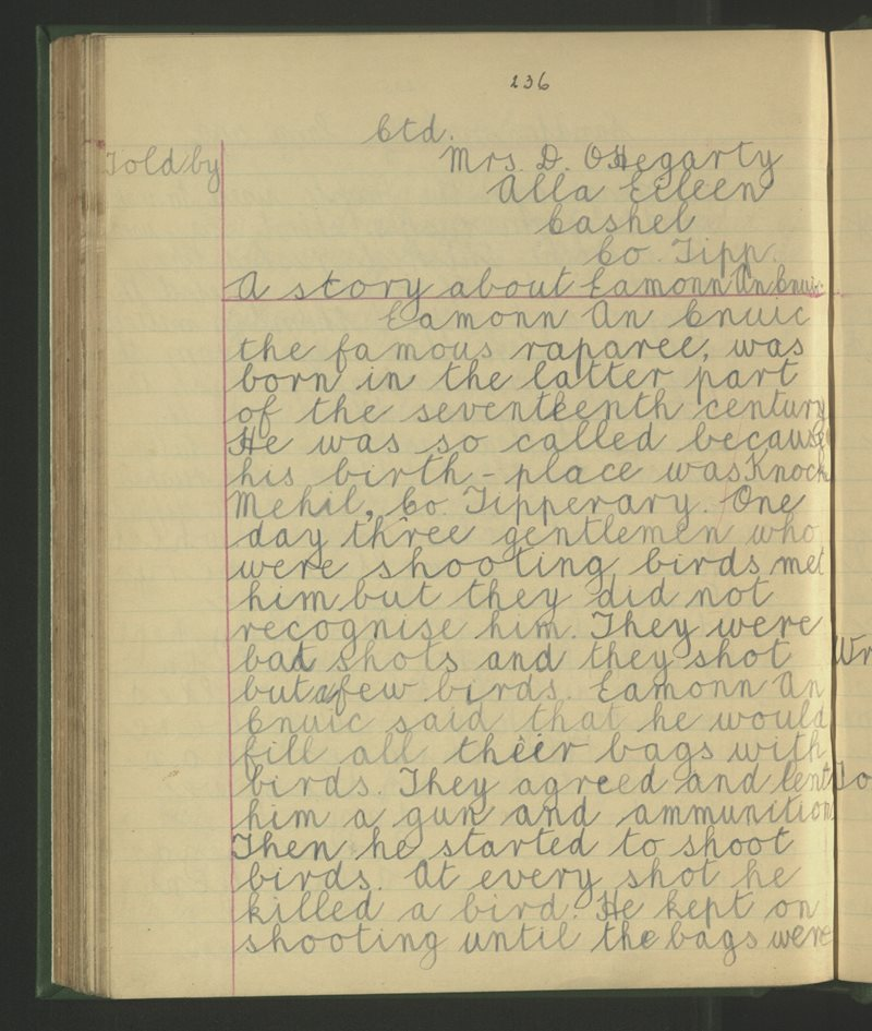 Scoil na mBráthar, Caiseal | The Schools' Collection