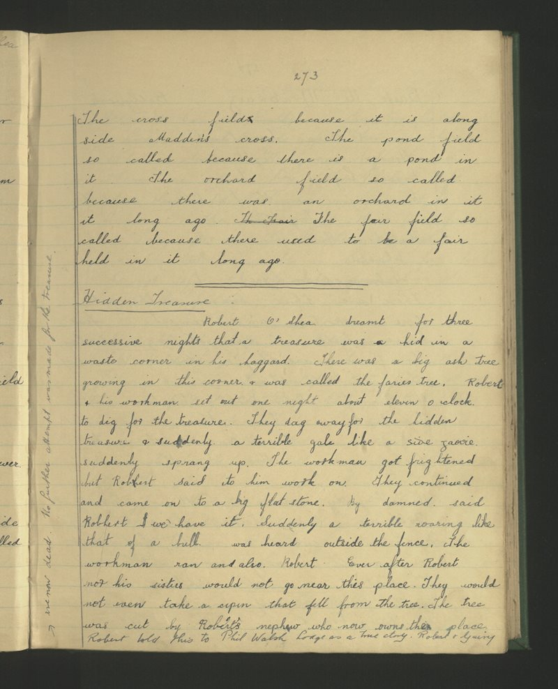 An Churrach (Crogh), Árd Fhionáin | The Schools' Collection