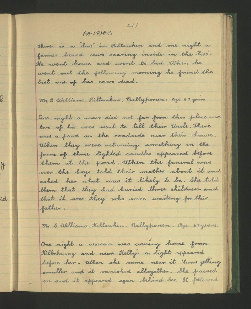 Sceichín an Rince, Cloichín an Mhargaidh | The Schools' Collection