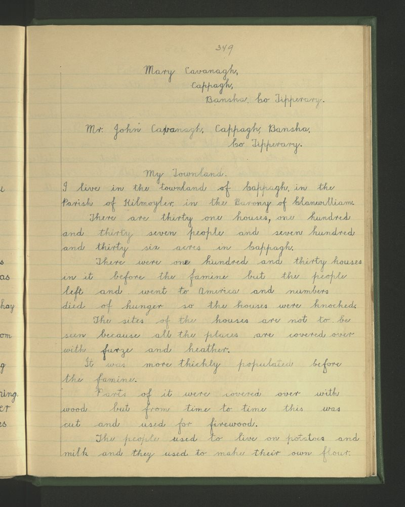 Tankerstown | The Schools' Collection