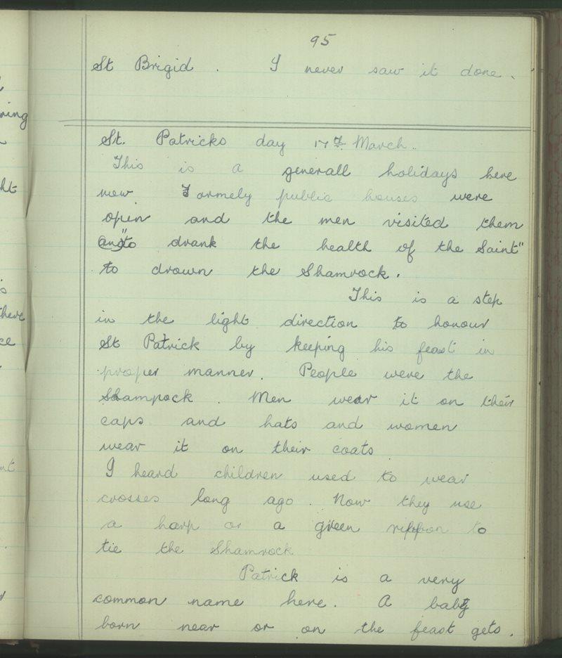 Belvoir, Kilkishen | The Schools' Collection