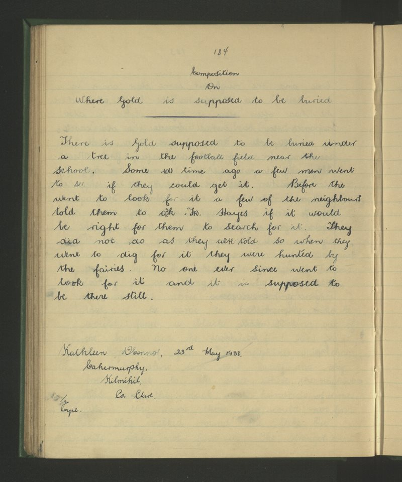 Cahermurphy, Cill Mhichíl | The Schools' Collection