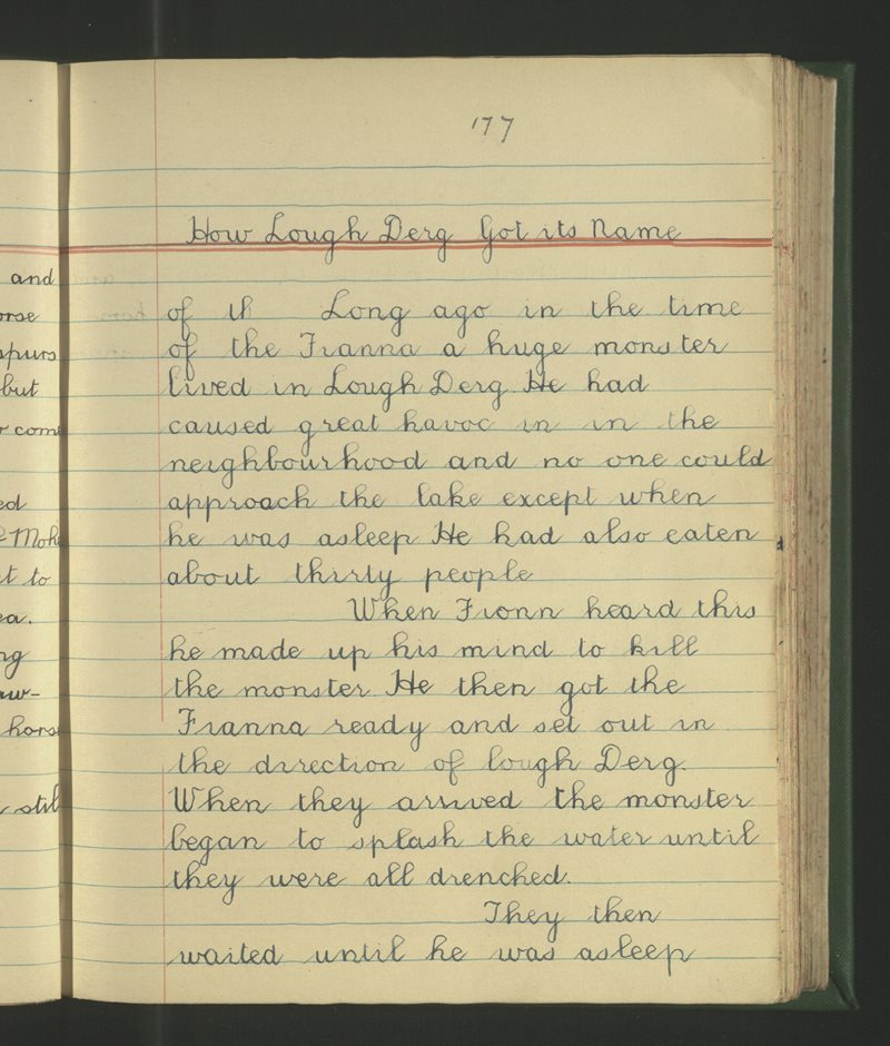 How Lough Derg Got Its Name