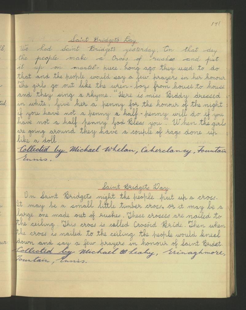 Tamhnach, Inis | Bailiúchán na Scol