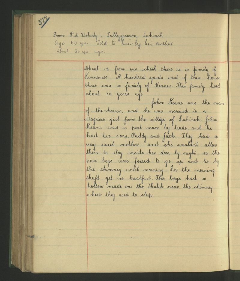 Lahinch | The Schools' Collection