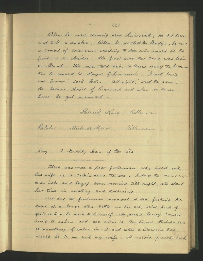 Dunsallagh, Sráid na Cathrach | The Schools' Collection