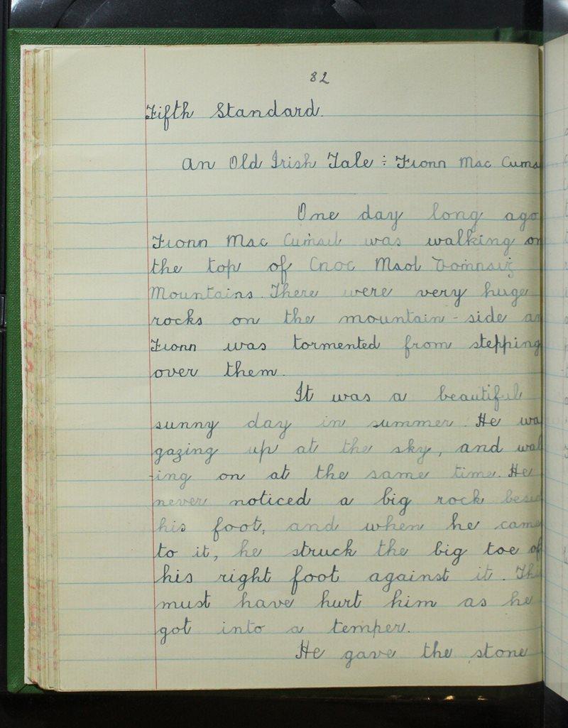 An Old Irish Tale - Fionn Mac Cumhaill