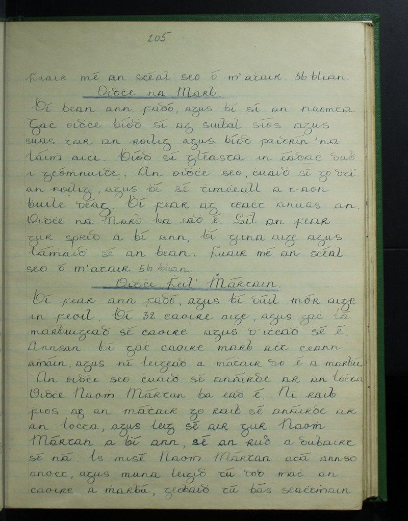 Maol an Chóirne, An Rinn | The Schools' Collection