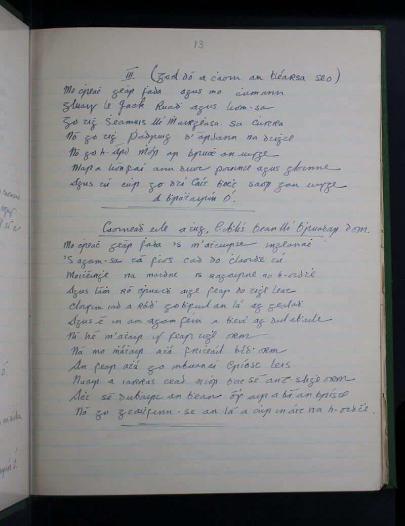 Áird Mhór,  Eóchaill   The Schools' Collection