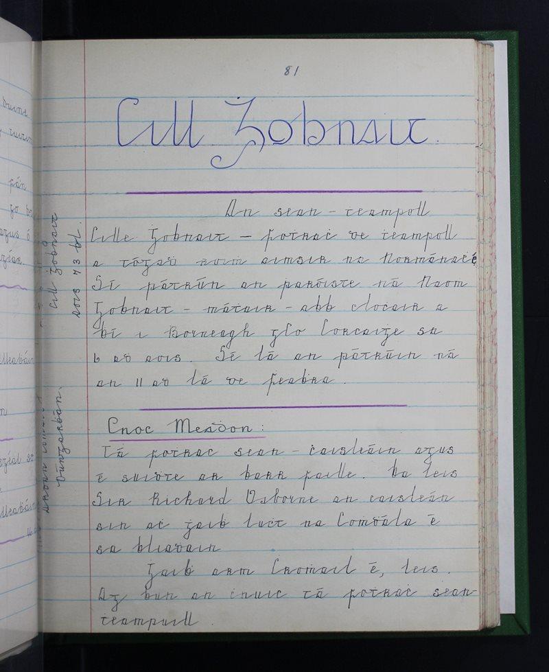 Clochar na Toirbhirte, Dúngarbhán | The Schools' Collection