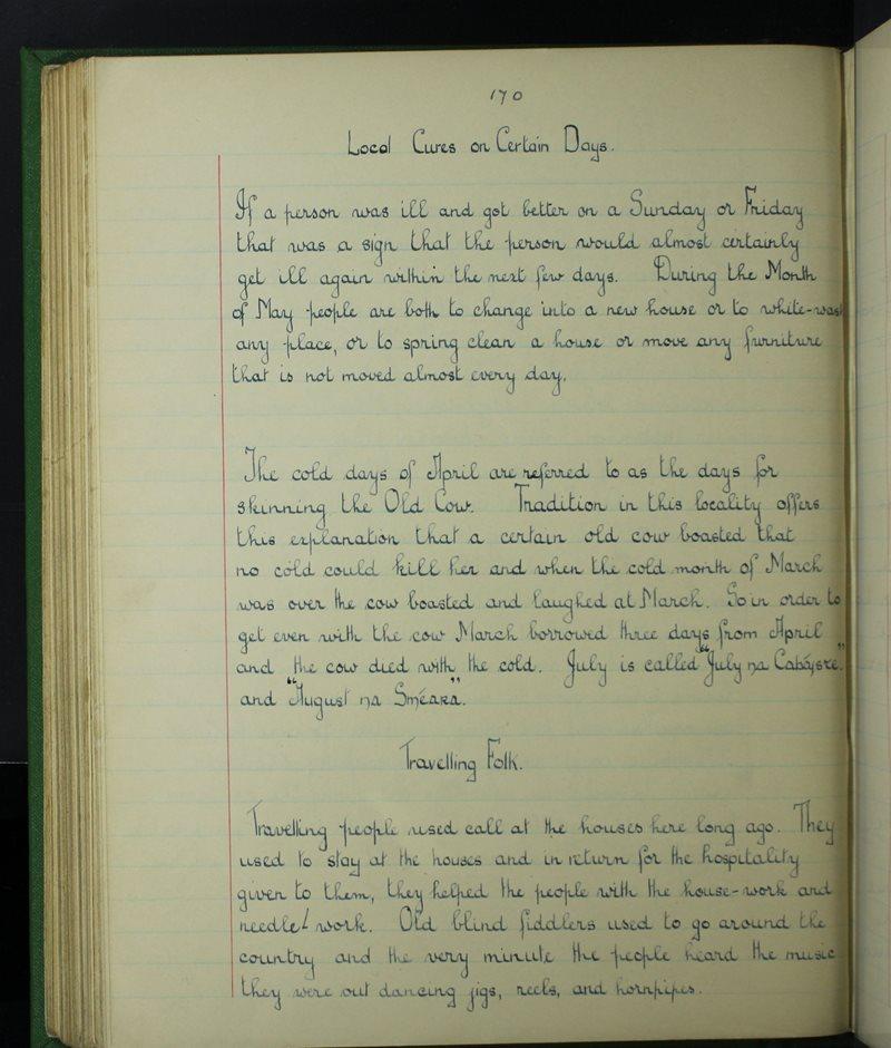 An Clochar, Dún Mór | The Schools' Collection