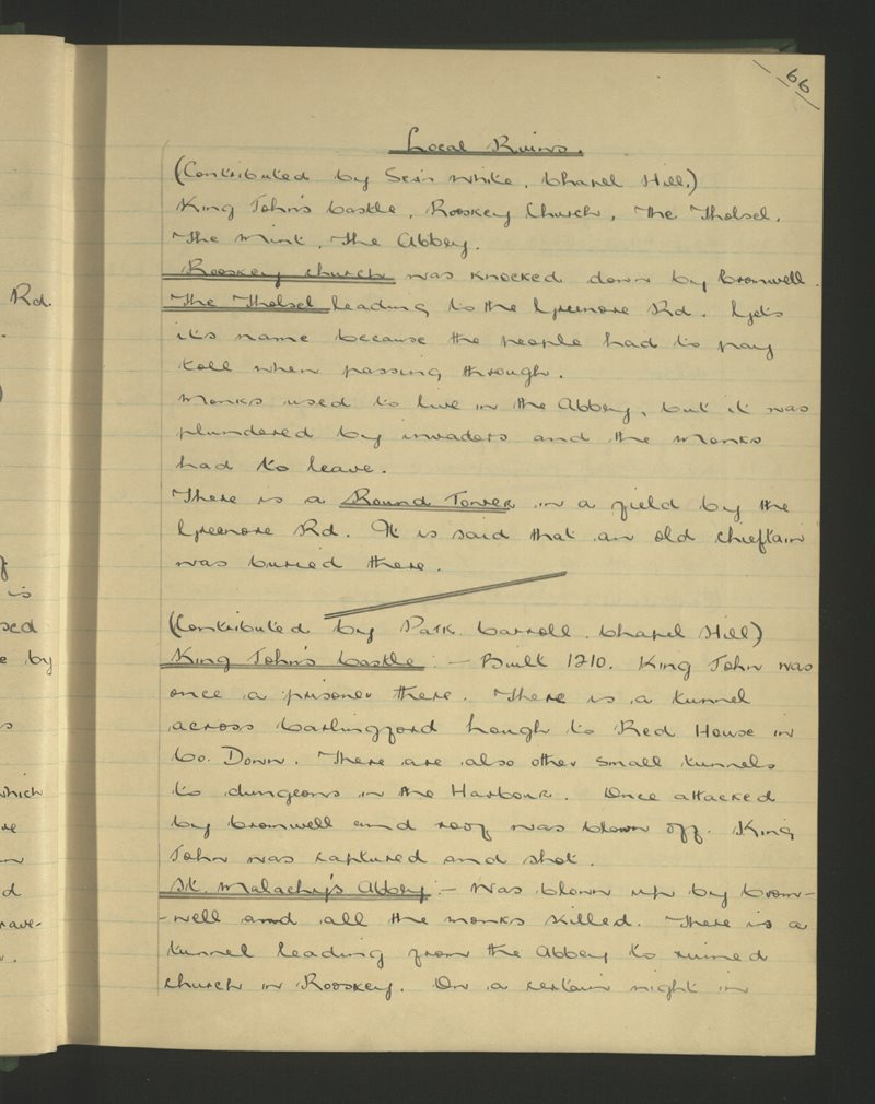 Carlingford (B.) | The Schools' Collection