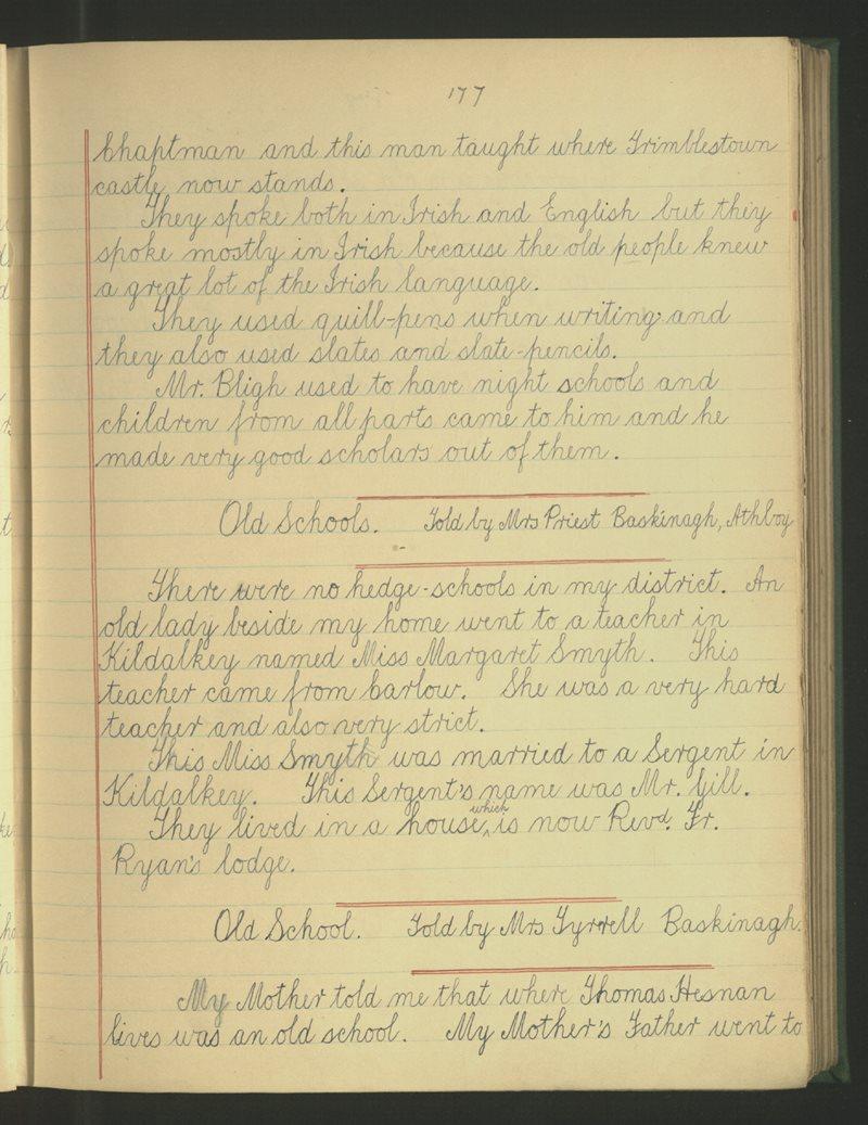 Kildalkey (C.) | Bailiúchán na Scol
