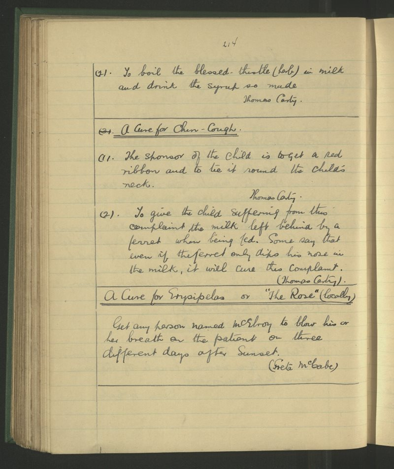 Rathkenny | The Schools' Collection
