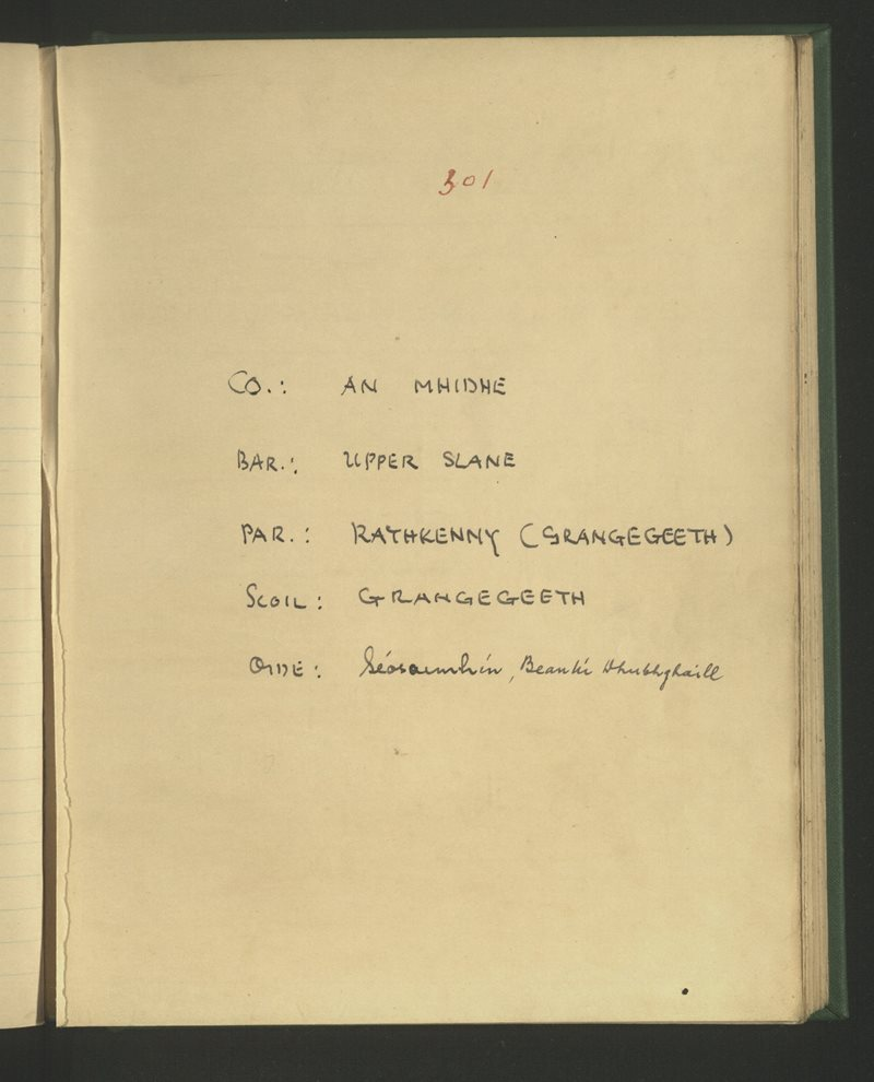 Grangegeeth | The Schools' Collection