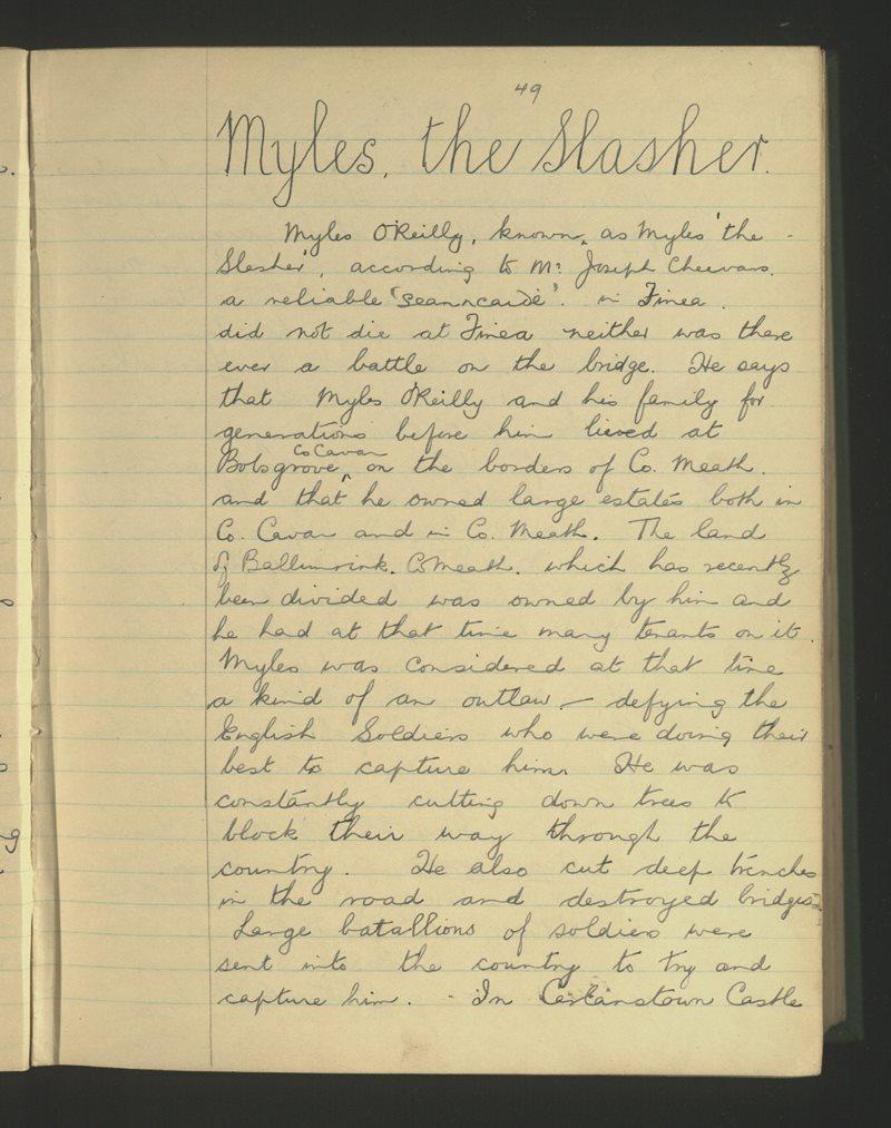 Myles, the Slasher
