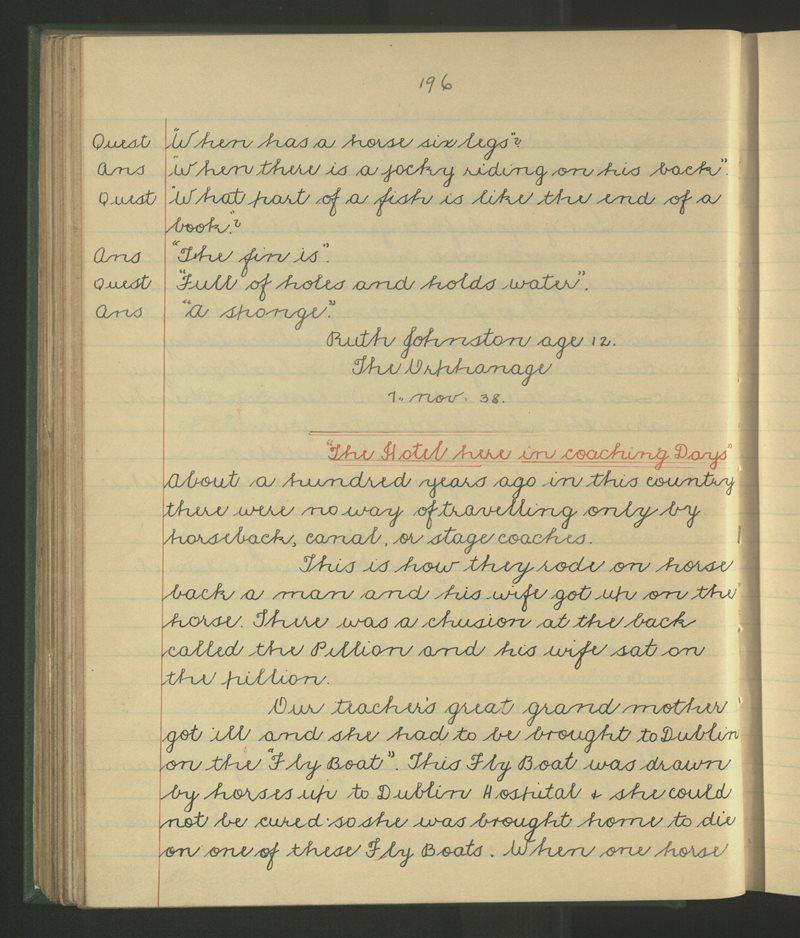Tyrrellspass (2) | The Schools' Collection