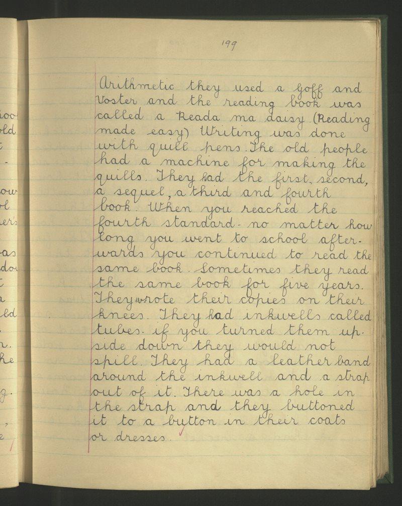 Colehill (C.), Mullingar   Bailiúchán na Scol