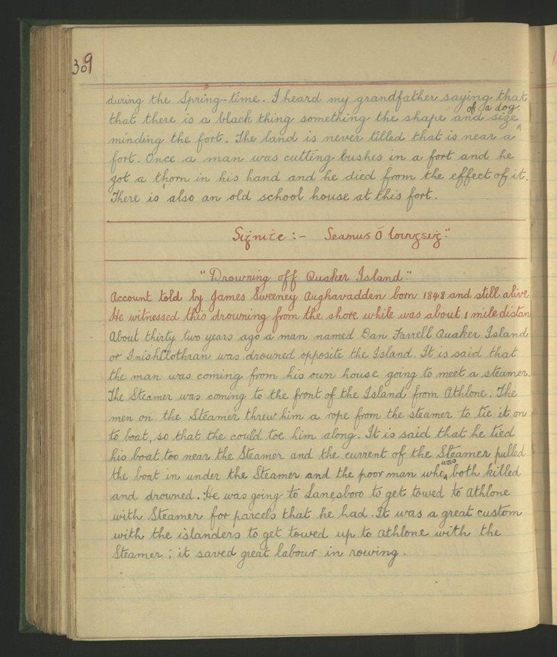 Carnadough (B.), Newtowncashel | The Schools' Collection