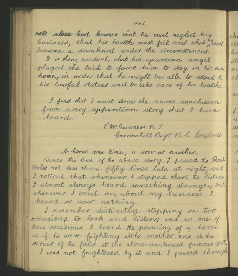 Garrowhill, Longford | The Schools' Collection