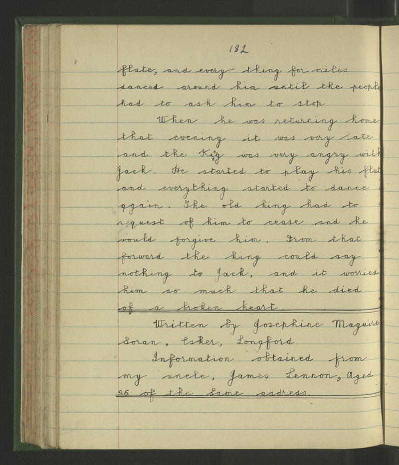 Soran, Longford | The Schools' Collection