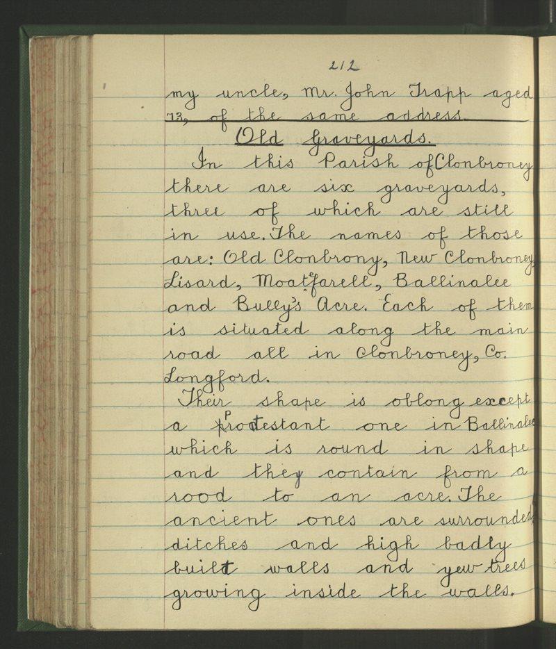 Soran, Longford | Bailiúchán na Scol