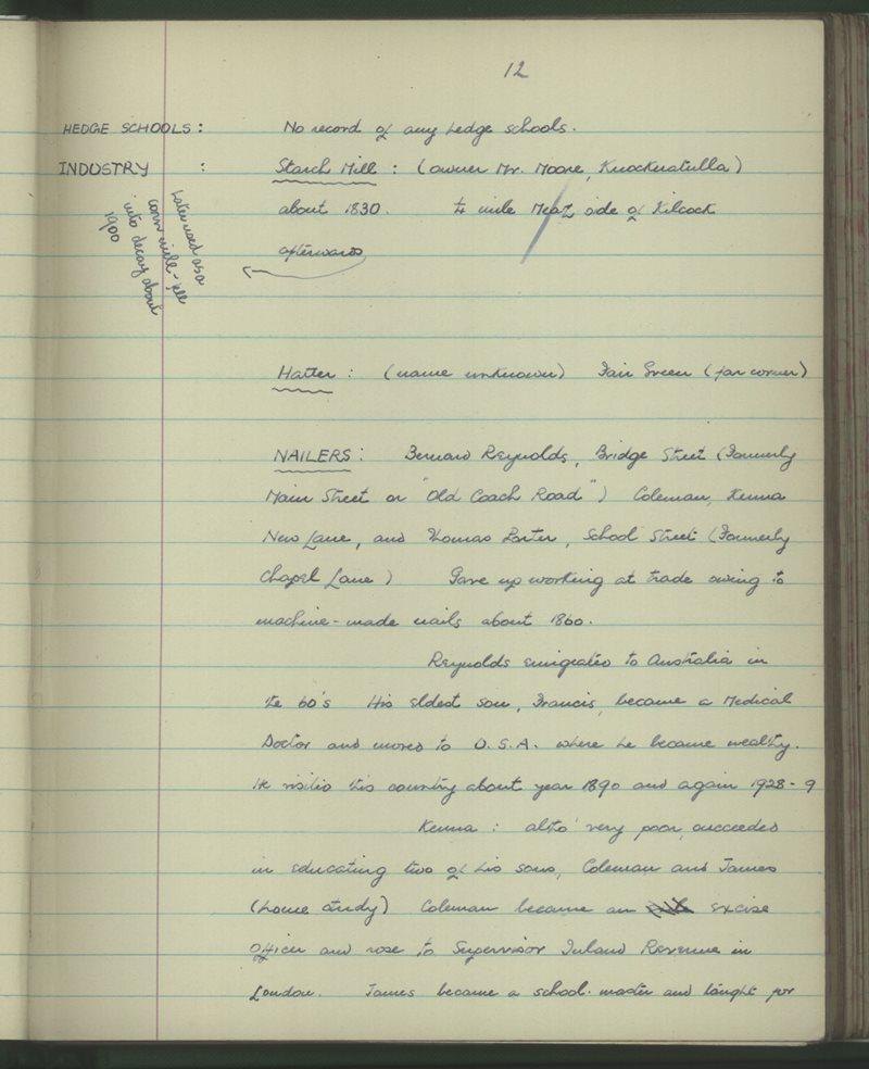 Kilcock (Pres. Convent) | The Schools' Collection