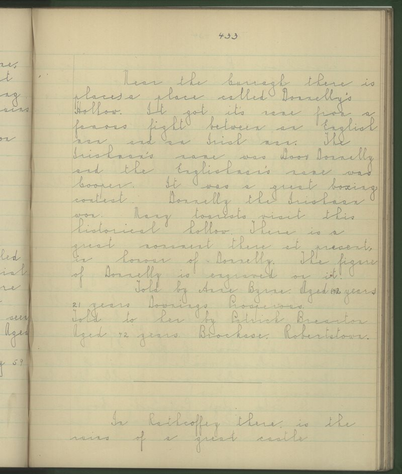 Prosperous (B.), Naas | The Schools' Collection