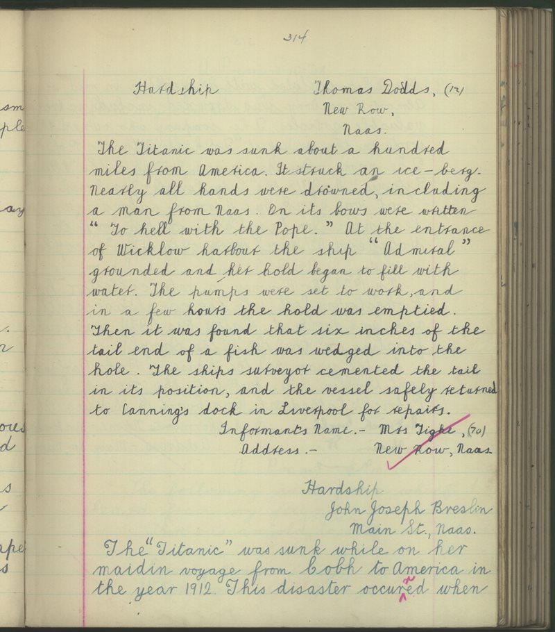 Naas (Christan Bros.) | The Schools' Collection
