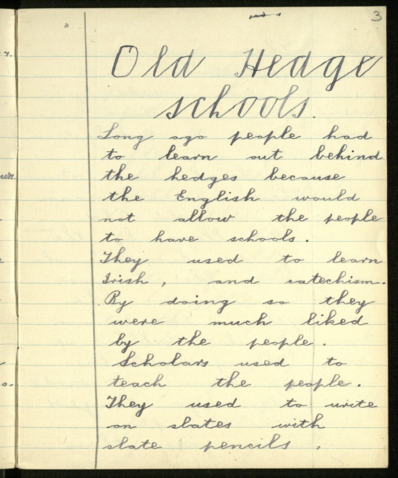 Old Hedge-Schools